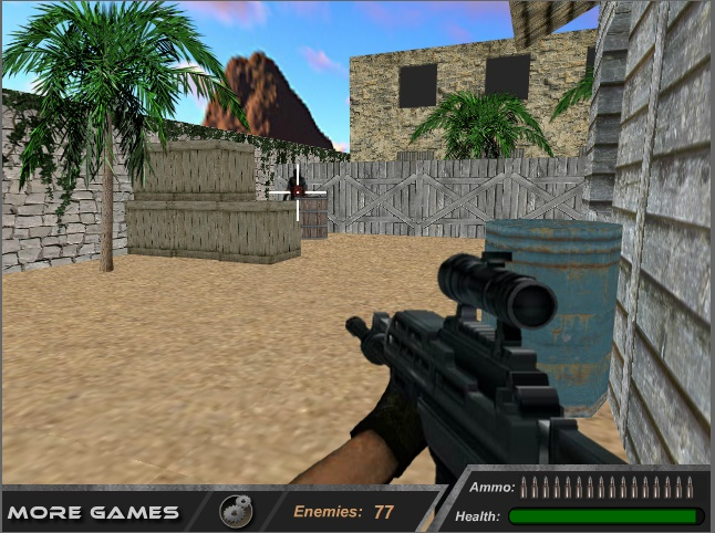 rapid gun game play free online